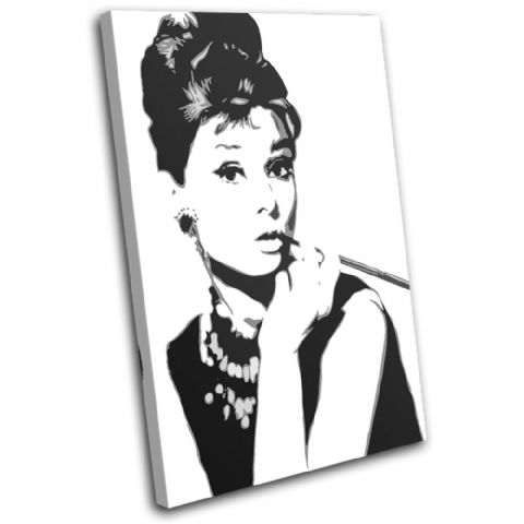 Audrey Hepburn Iconic Celebrities - 13-1951(00B)-SG32-PO